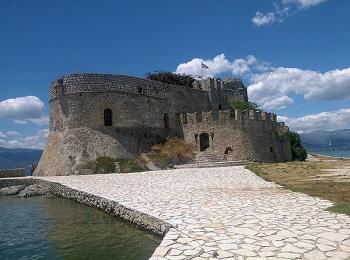 Нафплион, крепость Бурдзи