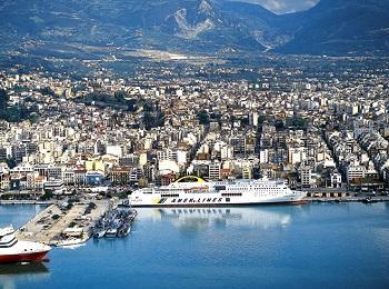 Город Патры, Греция