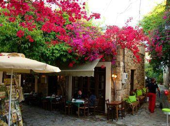 Средиземноморская кухня в тавернах на Косе