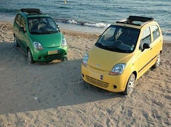 Малолитражные машины способно добраться до самых диких пляжей