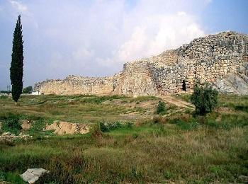 Древний город Тиринф, Пелопоннес