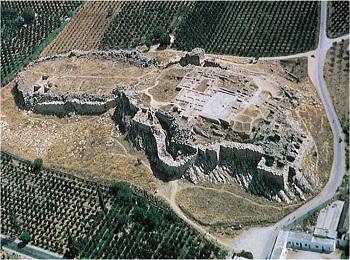 Город Тиринф, Пелопоннес, Греция