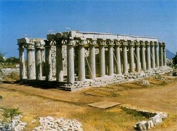 Храм Аполлона Эпикурейского в Бассах, Пелопоннес