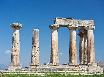Храм Аполлона в Коринфе, Пелопоннес