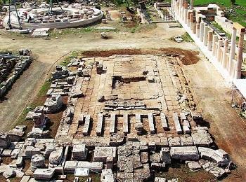 Храм Асклепия в Эпидавре, Пелопоннес, Греция