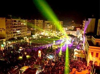 Карнавал в городе Патры