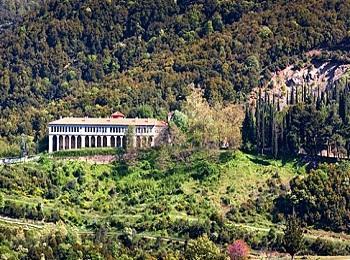 Монастырь Айя Лавра в Калаврита, Пелопоннес, Греция