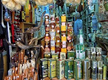 Магазины предлагают традиционные критские товары