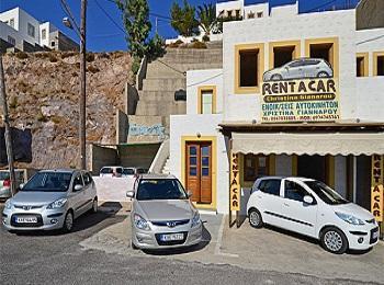 Пункты проката авто в Греции