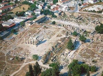 Руины города Коринфа, Пелопоннес