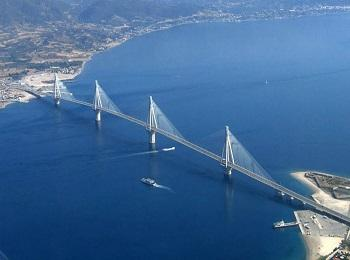 Вантовый мост, Пелопоннес, Греция