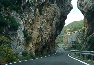 Ущелье Франгокастелло