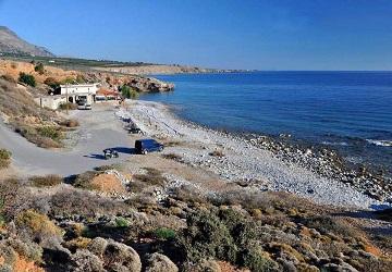 Галечный пляж Кутэлос