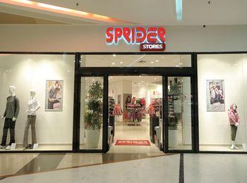 Представитель линейки греческих магазинов SPRIDER Stores