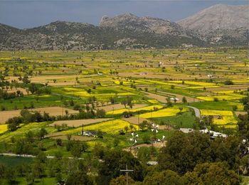 Плодородные поля в Долине Лассити
