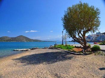 Популярный пляж на Крите - Элунда