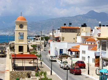 Иерапетра - один из крупнейших городов на южном побережье Крита