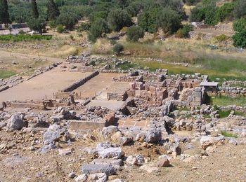 Руины исторического дворца Закроса