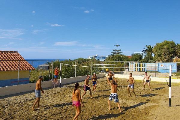 Волейбольная площадка для отдыхающих
