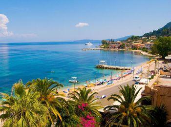 Потрясающий остров Корфу в Греции