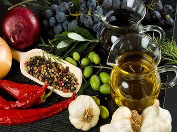 Греческие продукты - богаты полезными свойствами
