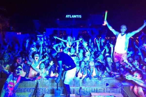 Часто посещаемый ночной клуб Атлантис