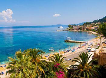 Живописная природа и райский уголок Греции - остров Корфу