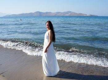 Живописный пейзаж, чистое море