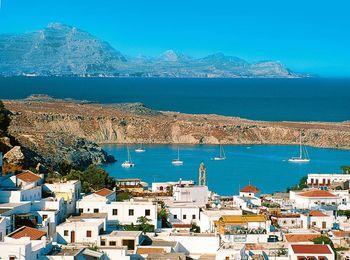 Популярный греческий остров Родос