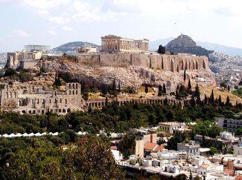 Один из самых главных и популярных городов Греции