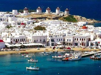 Крупный порт Средиземного моря