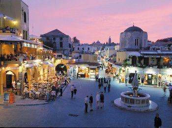 Самая обширная культурная программа, город Родос