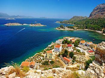 Родос - одно из самых красивых мест в Греции