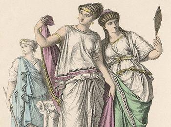 Любимое занятие женщин в Греции было - рассматривать украшения