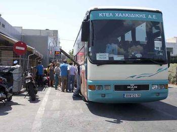 Автовокзал КТЕЛ Халкидики — города Кассандры
