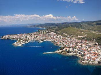 Крупнейший населенный пункт в Сетонии - Неос-Мармарас