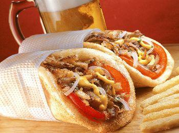 Популярное и сытное блюдо - Гирос