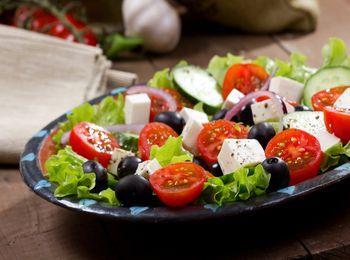 Знаменитый греческий салат