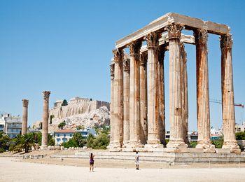 Древний Храм Зевса Олимпийского