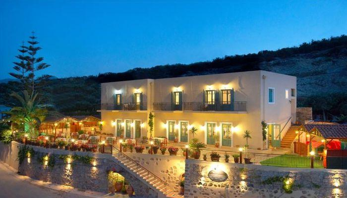 Небольшие, но уютные отели курорта