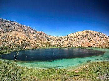 Пресноводное озеро Курнас