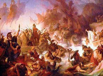 Персидская армия высадилась недалеко от столицы