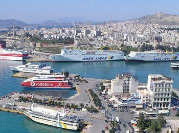 Пирей - самый большой порт в Греции
