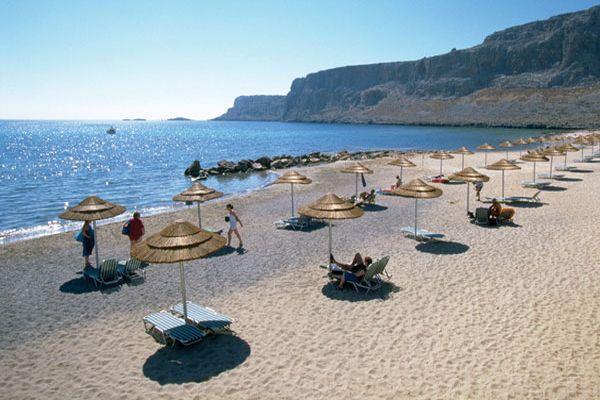 Пляжи оборудованы всем необходимым для отдыхающих