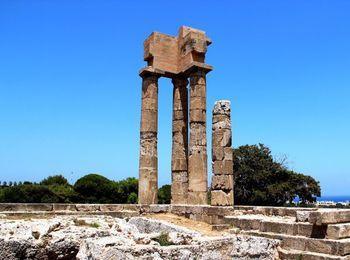 Одно из главных достопримечательностей - Родосский Акрополь