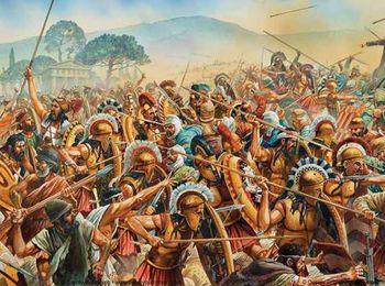 Война со Спартой за главенство греческих государств