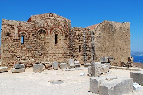 Внутренний вид замка Ордена Святого Иоанна