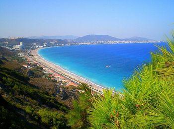 Курорт Иксия на острове Родос