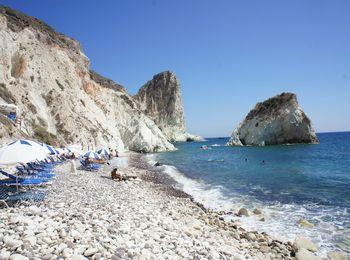 Белый пляж для любителей романтики