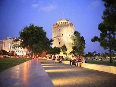 Вечерние прогулки в Салониках